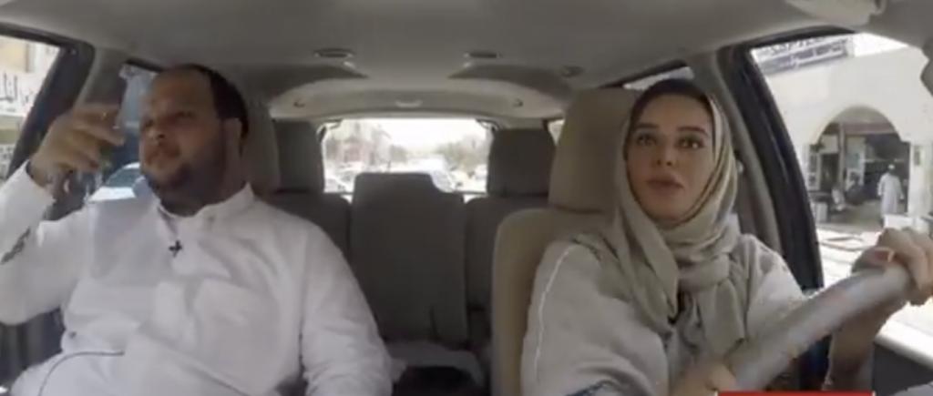 aed1f1684 شاهد سائقة سعودية تنقل ركاب من موقف الكدادين بالرياض! • صحيفة المرصد