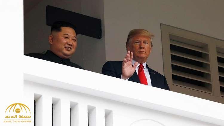 """بالفيديو.. """"ترامب"""" وزعيم كوريا الشمالية يتجولان في طريقهم إلى اجتماع القمة"""