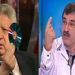 """مرتضى منصور لعلاء صادق: """"إن كنت راجل انزل مصر"""""""