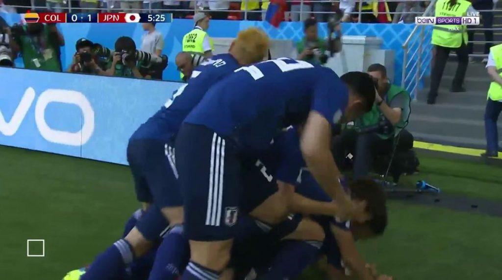 بالفيديو .. اليابان تُحسن استغلال الفرص وتحقق فوزاً مفاجئاً على كولومبيا