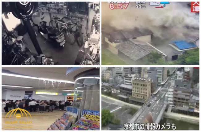 بالفيديو: مشاهد مرعبة أثناء الزلزال الذي ضرب اليابان !