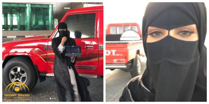 """بالفيديو .. الإماراتية """"كشونة"""" تكشف سبب تواجدها في السعودية"""
