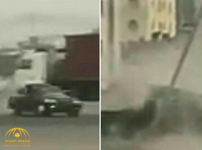 شاهد: حادث تفحيط  مروع في عُمان