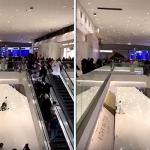 """شاهد.. هلع وهروب المتسوقين داخل مركز  """"الرياض بارك"""" ..وإدارة المول تكشف حقيقة ما حصل!"""