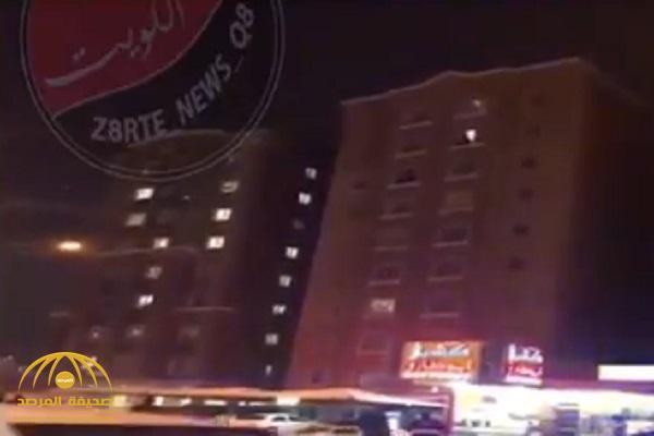 بالفيديو.. امرأة تهدد بالانتحار في الكويت.. ومفاجأة بعد الكشف عن هويتها!