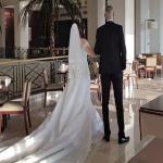 شاهد: الصور الأولى لحفل زفاف الداعية الإسلامي الشهير من ممثلة مصرية.. هكذا ظهرت العروس!