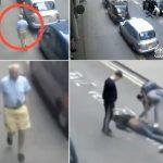 مقطع صادم.. شاهد: سائق تاكسي يسحل راكب في لندن ويتركه وسط الطريق.. والغريب ما فعله بعد الواقعة!