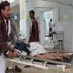 """""""الحوثي """" يستهدف حفل زفاف بمجمع حكومي بالحزم بصاروخ كاتيوشا.. وهذه حصيلة الشهداء والمصابين!"""