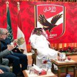 النادي الأهلي المصري يصدر بياناً رسمياً للرد على مبادرة صلح تركي آل الشيخ