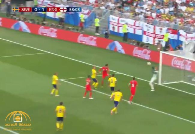 بالفيديو: انجلترا تهزم السويد بهدفين دون رد و تتأهل لنصف نهائي المونديال