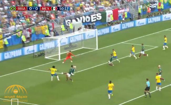 بالفيديو : البرازيل تصعد لربع النهائي بعد فوزها على المكسيك بهدفين دون مقابل