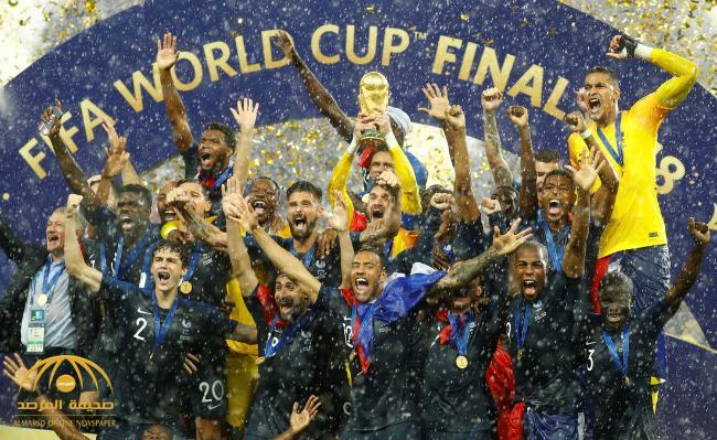 بالفيديو : فرنسا تسحق كرواتيا بأربعة أهداف وتحقق لقب كأس العالم للمرة الثانية في تاريخها