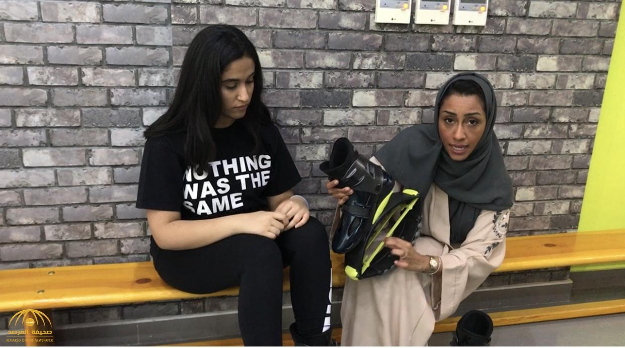 """يقفزن مثل """"الكانغر"""".. شاهد بالفيديو: سعوديات يمارسن رياضة جديدة بقفزات راقصة وأحذية شبيهة بالتزلج!"""