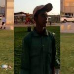 بالفيديو .. شخص يعتدي على عامل نظافة في حديقة بالرياض ويصفعه على وجهه