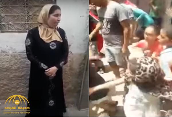 مغربية تنتقم من شاب حاول اغتصابها بقتله بسكين في الشارع – فيديو