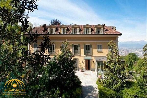 شاهد بالصور.. فيلا رونالدو الفخمة التي استأجرها في إيطاليا بعد انتقاله لليوفي.. كم يبلغ إيجارها في اليوم؟