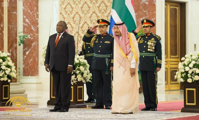 تفاصيل البيان المشترك بين السعودية وجمهورية جنوب أفريقيا