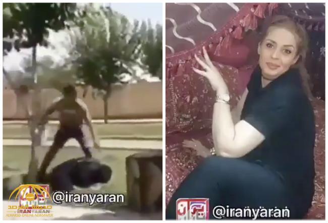 بالفيديو .. شاهد إيراني يقتل زوجته أمام محكمة في طهران!