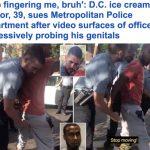 تعاملوا معه بطريقة مهينة .. شاهد رد فعل أمريكي بعد تفتيشه على يد الشرطة في واشنطن