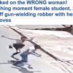 شاهد .. لصّ مسلّح اختار الضحية الخطأ