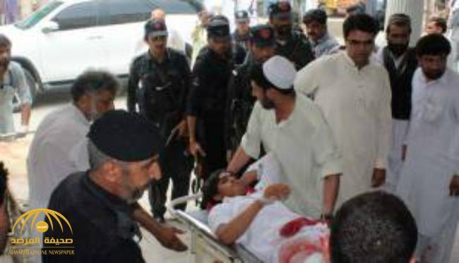 ارتفاع حصيلة الاعتداء الانتحارى فى باكستان إلى 128 قتيلاً