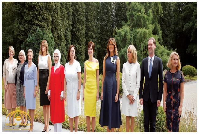 بالصور .. زوج رئيس وزراء لوكسمبورغ الشاذ بين زوجات قادة الناتو
