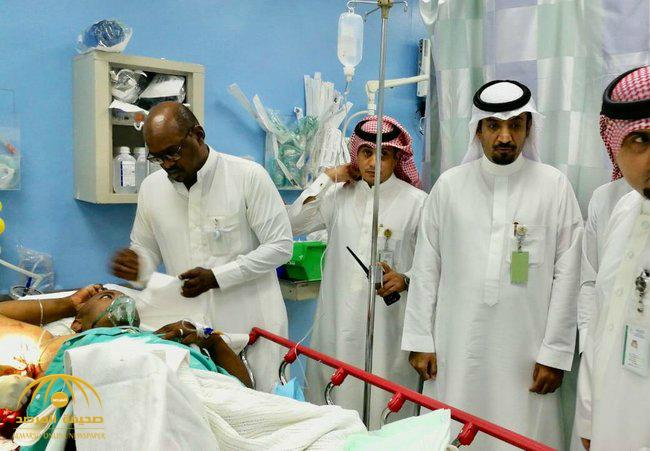تفاصيل طعن مشرف أمن بمستشفى الملك عبد الله ببيشة .. متحدث الصحة يكشف ماحدث منذ بداية الحادث