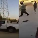 شاهد: لحظة إطلاق مليشيا إيران النار على مدنيين عراقيين بمدينة الديوانية!