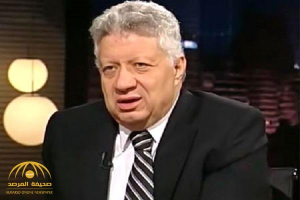 "مرتضى منصور يهدد إعلامي مصري: ""بلاش أنا.. أنت متصور فيديو""!"