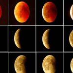 """""""القمر الدموي"""" يبهر مراقبي النجوم في أطول خسوف في القرن 21"""