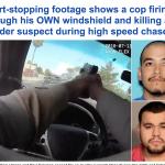 """مطاردة  وإطلاق نار لمتهمين في شوارع """"لاس فيغاس"""".. شاهد كيف تمكنت الشرطة الأمريكية من توقيفهما!"""