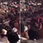 بالفيديو .. مشاجرة عنيفة بحفل بلقيس في صلالة بسلطنة عمان