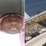 بالفيديو: مشجع هلالي يسيئ ويسخر من نادي النصر أثناء مروره من أمام متجره بالرياض !
