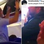 طيار سعودي ينشر فيديو لمسافر قليل الحيلة.. شاهد ماذا فعل ليشغل المضيفة ويضحك الركاب!