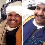 """شاهد.. سعودي يتنكر في الزي """"الصعيدي""""  ويتجول في شوارع الإسكندرية"""