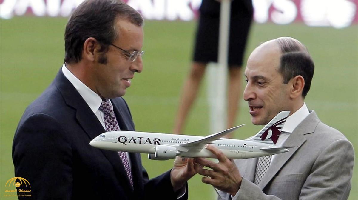 """الكشف عن """"رشاوى فساد"""" بين رئيس برشلونة السابق السجين حاليا وقطر"""