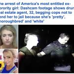 بالفيديو.. أمريكية تحاول إغراء رجال الشرطة بجمالها لإطلاق سراحها