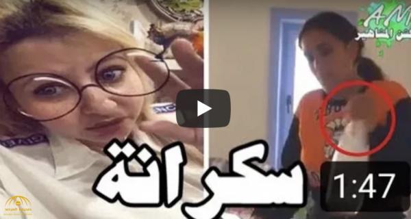 بالفيديو.. مي العيدان تشن هجومًا حادًا على عمرو دياب بسبب  وجود زجاجات خمور بجوار ابنته!