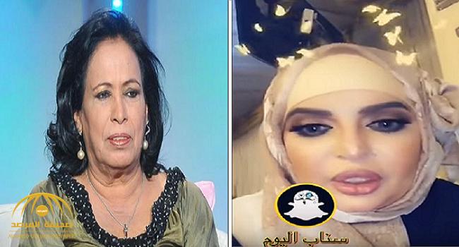 شاهد .. بدرية أحمد تهاجم الفنانة حياة الفهد: عمرك بالثمانين وما تحجبتي يا أم كشة!