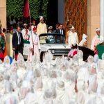 شاهد .. حفل الولاء بتجديد البيعة الـ 19 والركوع لملك المغرب محمد السادس