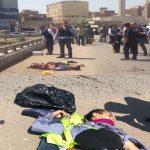 بالصور .. انتحاري مصري يفجر نفسه بحزام ناسف بجانب كنيسة في القاهرة