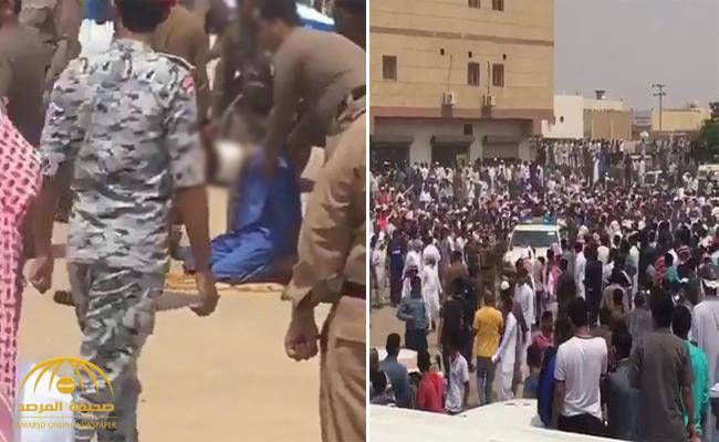 بالفيديو: سعودي يعفو عن قاتل ابنه قبل تنفيذ حكم القصاص بلحظات!