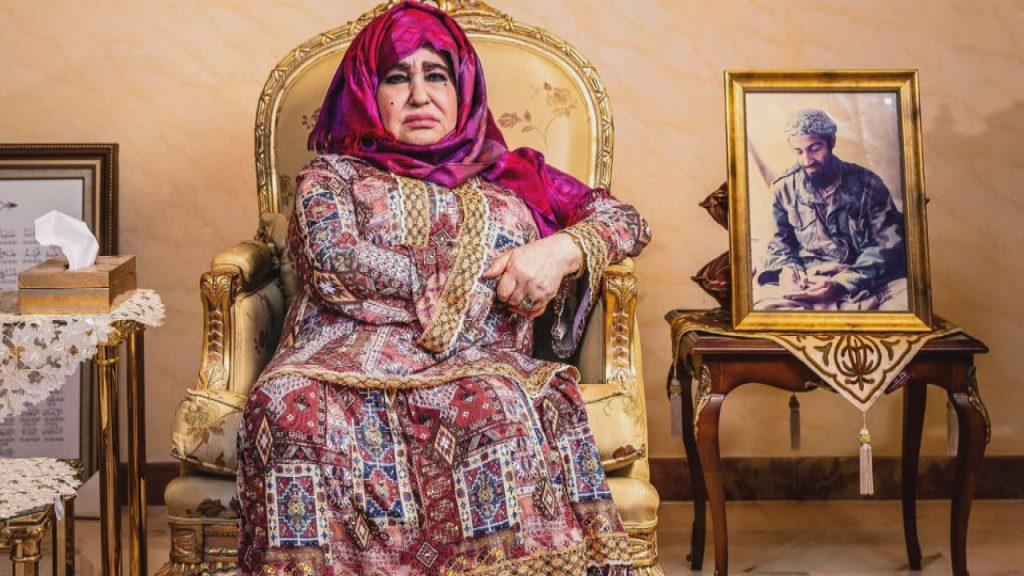 عرضًا واحدًا أخيرًا من الملك الراحل فهد لأسامة بن لادن..  الكشف عن دافع زيارة علياء غانم لابنها في أفغانستان