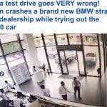 بالفيديو : حاولت ركن سيارتها فاقتحمت الوكالة