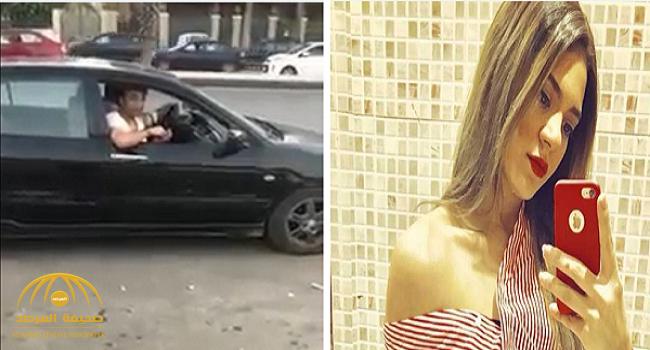 شاهد..فتاة مصرية توثق لحظة معاكسة شاب لها في شارع بالتجمع الخامس بالقاهرة!