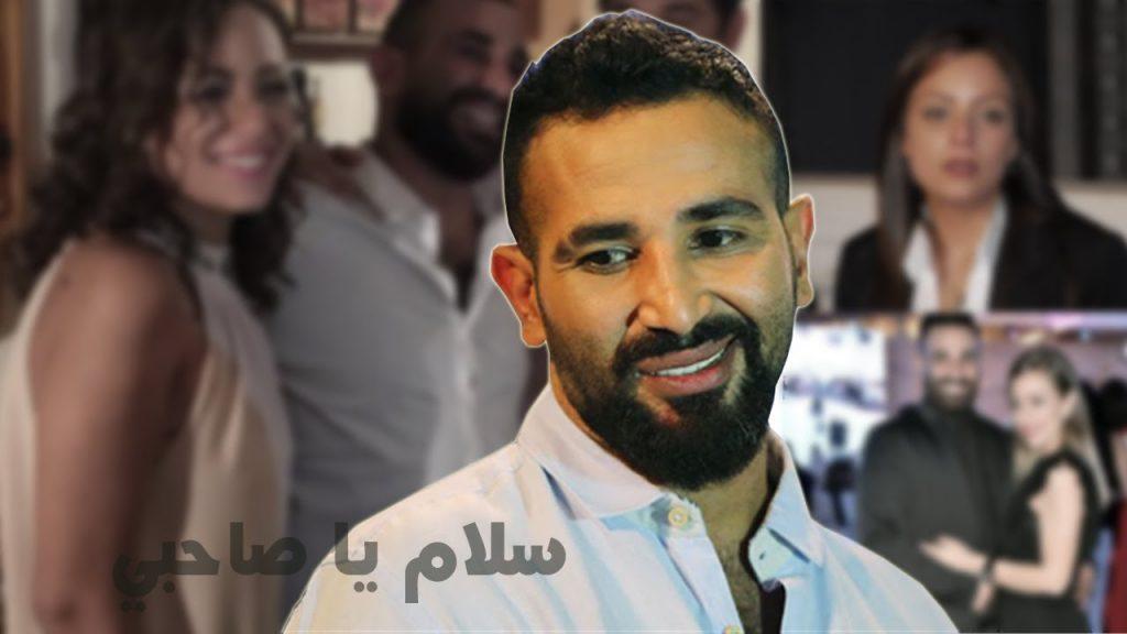 """بالفيديو .. شاهد  المغني المصري """"أحمد سعد"""" يرفع الآذان بالحجاج  يوم عرفة"""