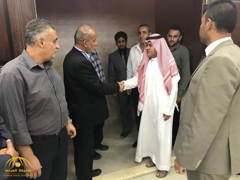 هكذا عزّى سفير خادم الحرمين لدى الأردن أسرة الفنان الراحل ياسر المصري.. وهذا ما قاله_صور
