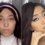 بالفيديو : شقيقة مودل روز تهاجم متابعيها وتصفهم بالحمير بسبب سخريتهم من شكلها قبل المكياج!