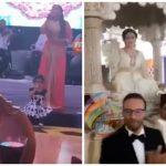 """بالفيديو .. الفنانة العراقية """"شذا حسون"""" تحتفل بزفاف شقيقها في قاعة فاخرة بالمغرب"""