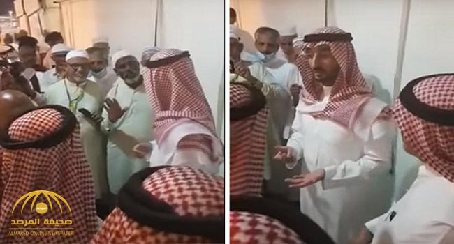 شاهد: نائب أمير مكة يفاجأ بحجاج يشكون مسؤول حملة لم يقدم لهم الطعام .. وهكذا جاءت ردة فعله!